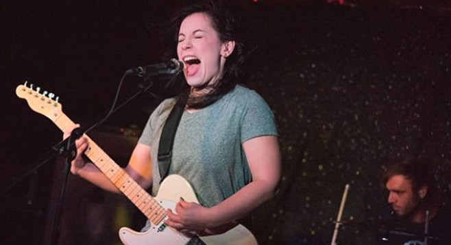 """Vanja James of Little Dove: """"My voice opened up when I started singing this ballsier way."""""""