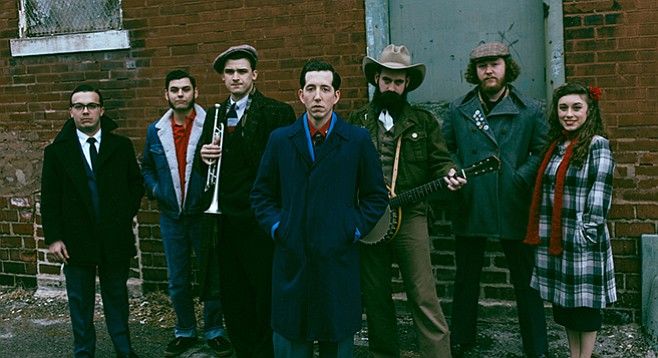 Andrew Heissler, aka Pokey LaFarge, and his ragtime blues band play Casbah on Saturday.