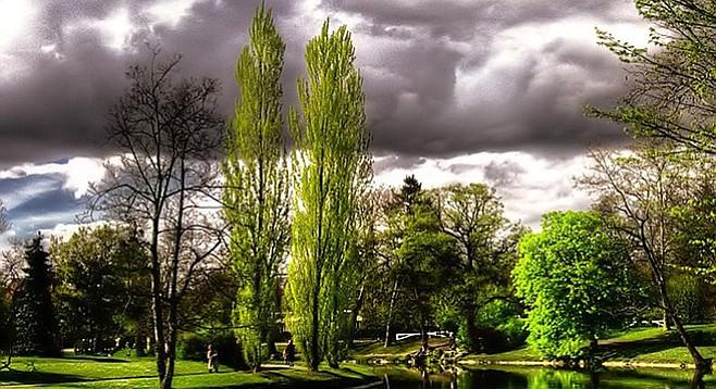 Les Ibis Park. Le Vésinet, France.