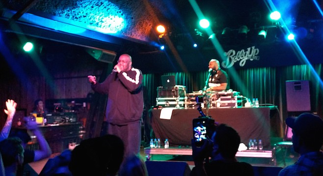 Hip-hop vets Blackalicious rocked the house at Belly Up
