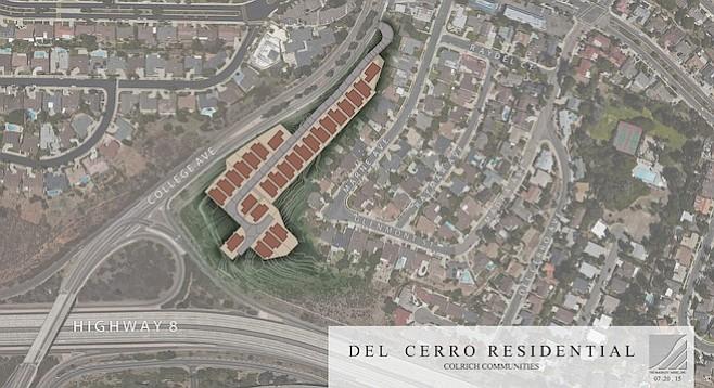 ColRich aerial map