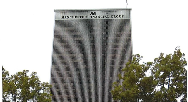 Proposed Manchester sign design, facing east