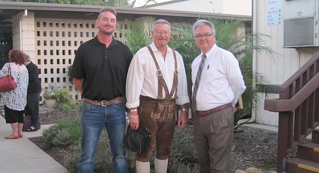 Shane Hancock, Joe Dyke, and John Vigil
