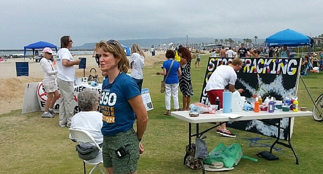 Nicole Peill Moelter of San Diego 350