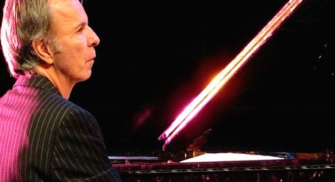 L.A. jazz pianist Bill Cunliffe comes to town.