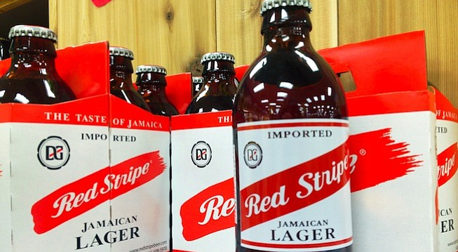 "Red Stripe ""Jamacian"" Lager"