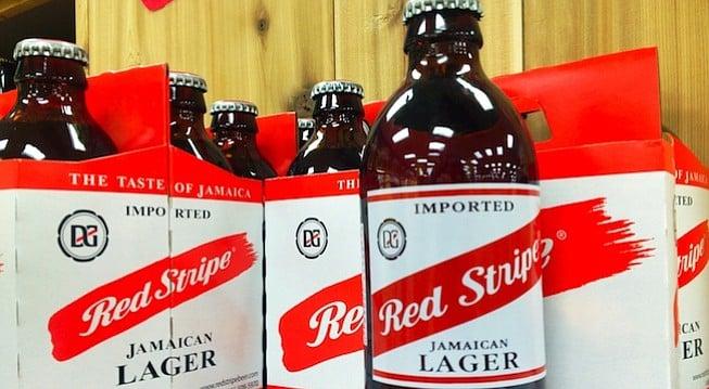 """Red Stripe """"Jamacian"""" Lager"""