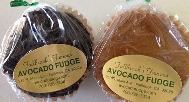 Avocado fudge | San Diego Reader