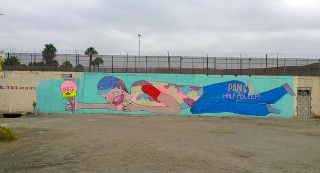 Mural by Panca + Half Asleep