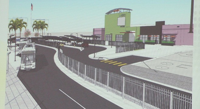 Proposed Virginia Avenue Transit Center
