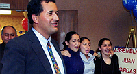San Diego Assemblyman Juan Vargas shills for insurance interests who donate heavily to him