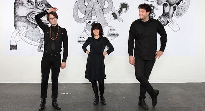 Soda Bar sets up grunge-rock trio Screaming Females on Monday night!