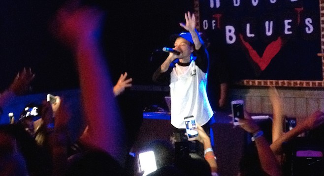 """""""There were moments when Phora's followers sang over him, singing their stories through his lyrics."""""""