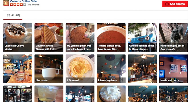 Cosmos fans added three pages of Yelp photos over the years