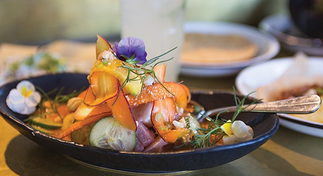 Inventive small dishes at Bracero Cocina de Raiz