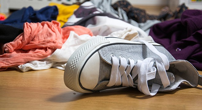 KonMari: The less you have, the easier it is to get dressed and ready.