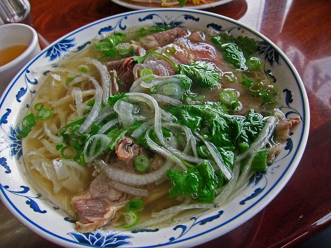 Pho Hiep and Grill opens at 7:30 a.m., so you can have a bowl for breakfast, just as in Vietnam.