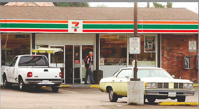 Does the abrupt closure of this 7-Eleven hint at more changes to come?