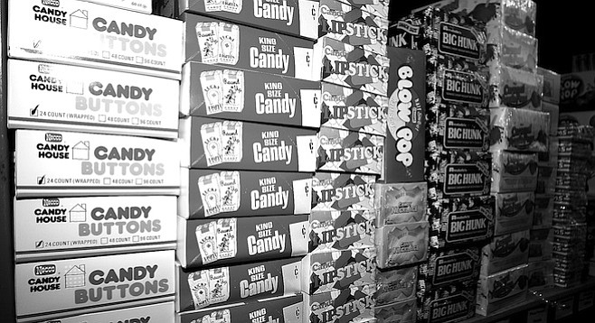 Down in National City, in a corporate subdivision on the concrete banks of the aptly named Sweetwater River, Candy Direct operates out of a nondescript storefront.