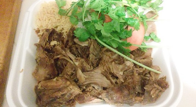 One pound of carnitas goodness