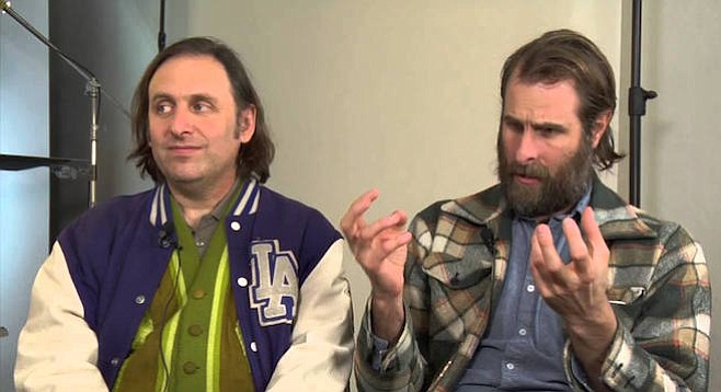 Gregg Turkington and Rick Alverson