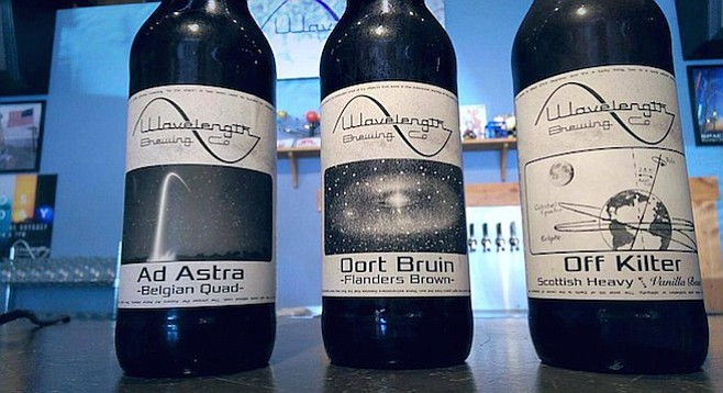Wavelength issues its first bottles, available in its Vista Village tasting room.