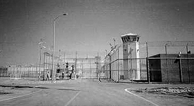 """Valley State Prison at Chowchilla. The prison staff told Dee that Valley State Prison was where she and other recently convicted """"lifers"""" would likely spend their entire incarceration."""
