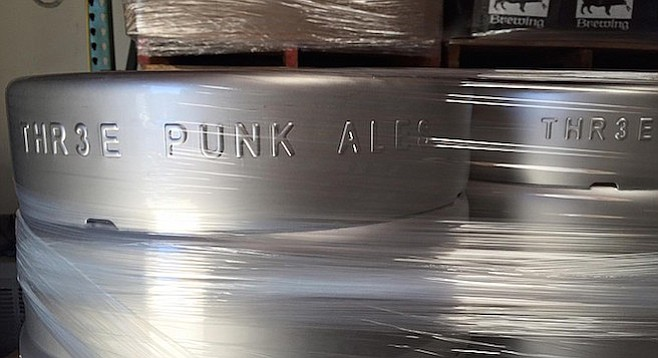 Thr3e Punk Ales is finally coming out of the plastic wrap.