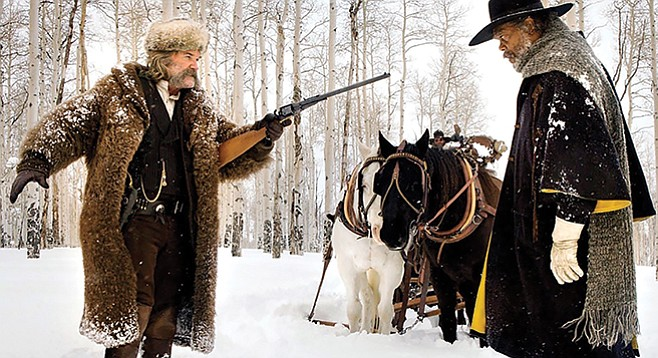 The Hateful Eight: So much hate, Tarantino needed double the film width to capture it all!