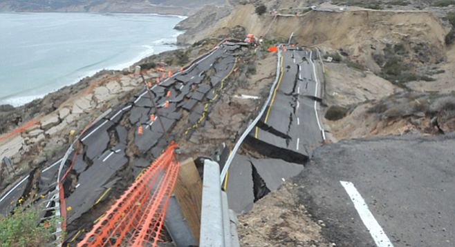 Tijuana-Ensenada scenic highway collapse of 2013