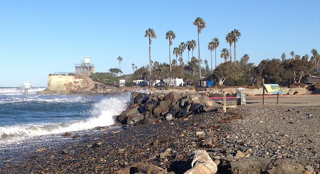 Project was completed a day before king tides