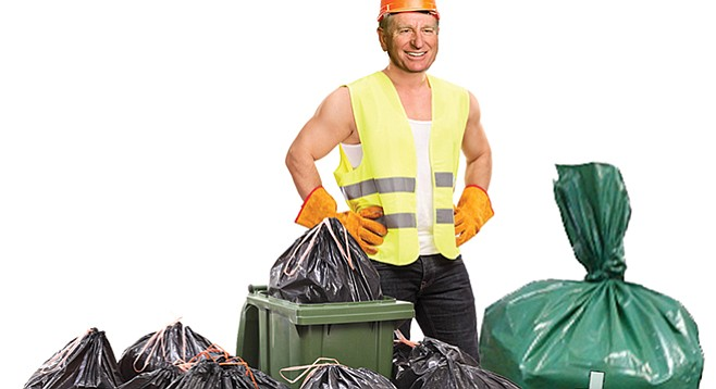 Steve Miesen's conflicting interests as garbage man and councilman don't go unnoticed.