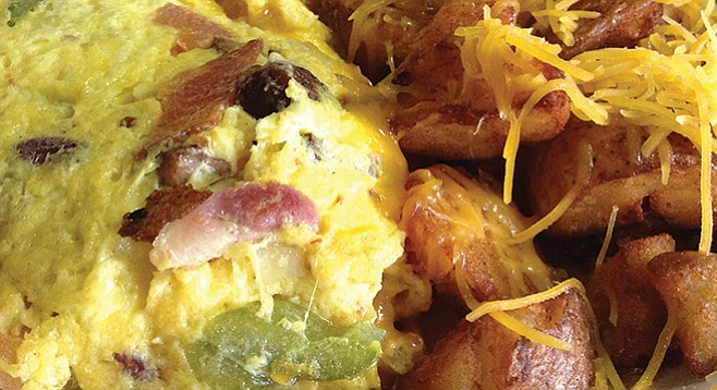The Works: my omelet