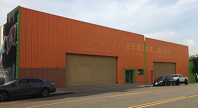 This 22-thousand sq. ft. former factory will be the site of Thorn St. Brewery offshoot Thorn Brewing Company.
