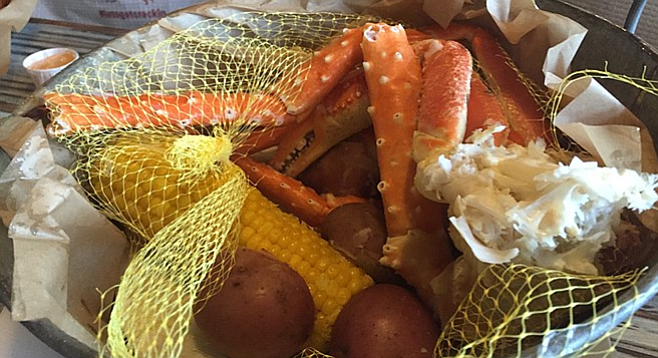 Crab Daddy Feast