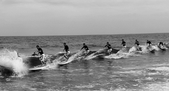 """Surfing Rockaway once put wave riders in serious legal danger. """"They'd actually send the chopper in once in a while."""""""