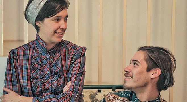 Haydeé Jiménez and Jonás Romero