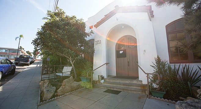 Swedenborgian Hall served as a venue for voting, socials, theater, AA meetings, San Diego Symphony string quartets, one-night rentals, comedy groups, poetry readings...