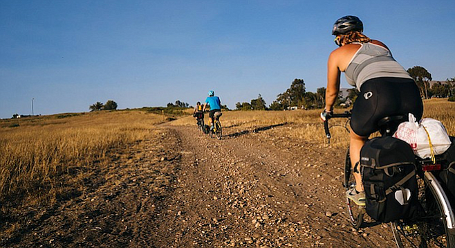From pavement to dirt roads – taking a microadventure in San Diego.
