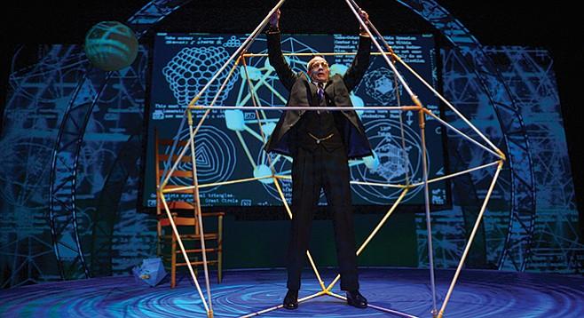 Ron Campbell as R. Buckminster Fuller