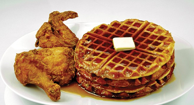 Roscoe's: The finest chicken and waffles the world has ever known.