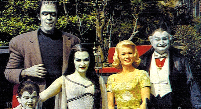 Conceptually, The Munsters is little more than The Donna Reed Show.