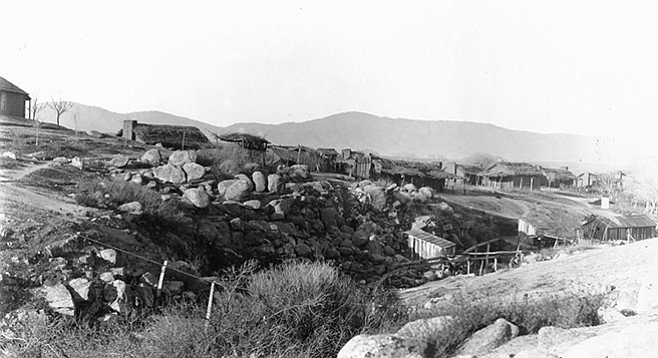 Cupeño village of Cupa in 1902, now Warner Springs