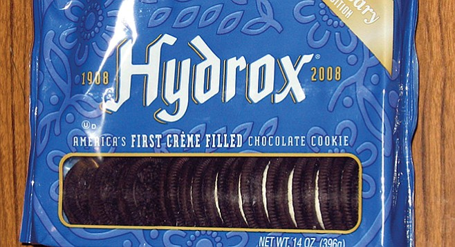 Hydrox: out of production from 1999 until 2008