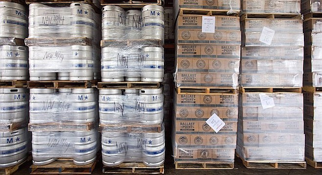 Ballast Point made and sold over a quarter million barrels of beer in 2015 — accounting for roughly 1/8th of all San Diego beer sales.