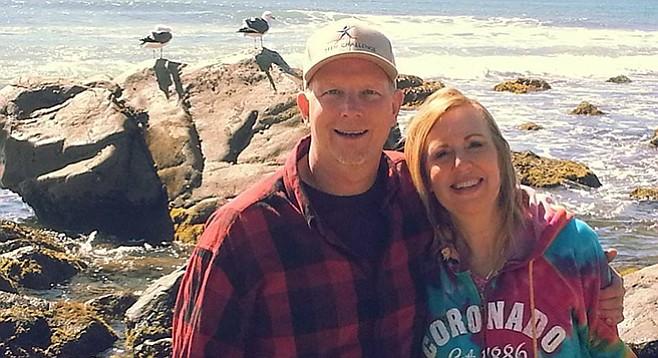 Kurt Bergquam and wife Valerie