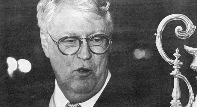 Bill Koch. Vanity Fair was the first I'd read about Koch's use of SEALs to spy on America's Cup competitors.