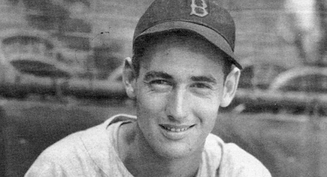 "Ted Williams, 1941. ""In 1939 my mother and father separated and there was more grief, so I just stayed away from San Diego."""