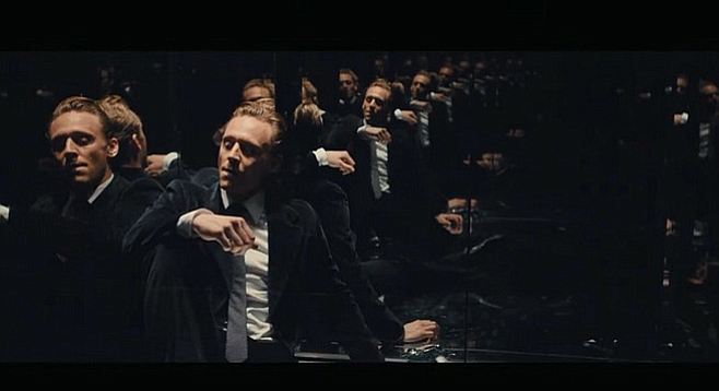 Tom Hiddleston takes a moment to reflect in High-Rise.