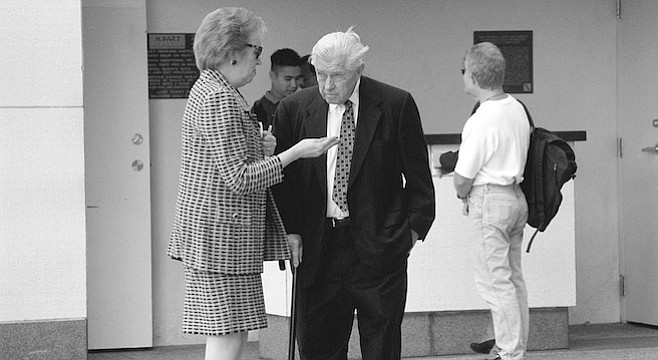 Karin Winner and Herb Klein